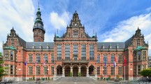 Academiegebouw (Main building) of the University of Groningen, Netherlands