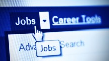 search jobs using internet- detail of webpage